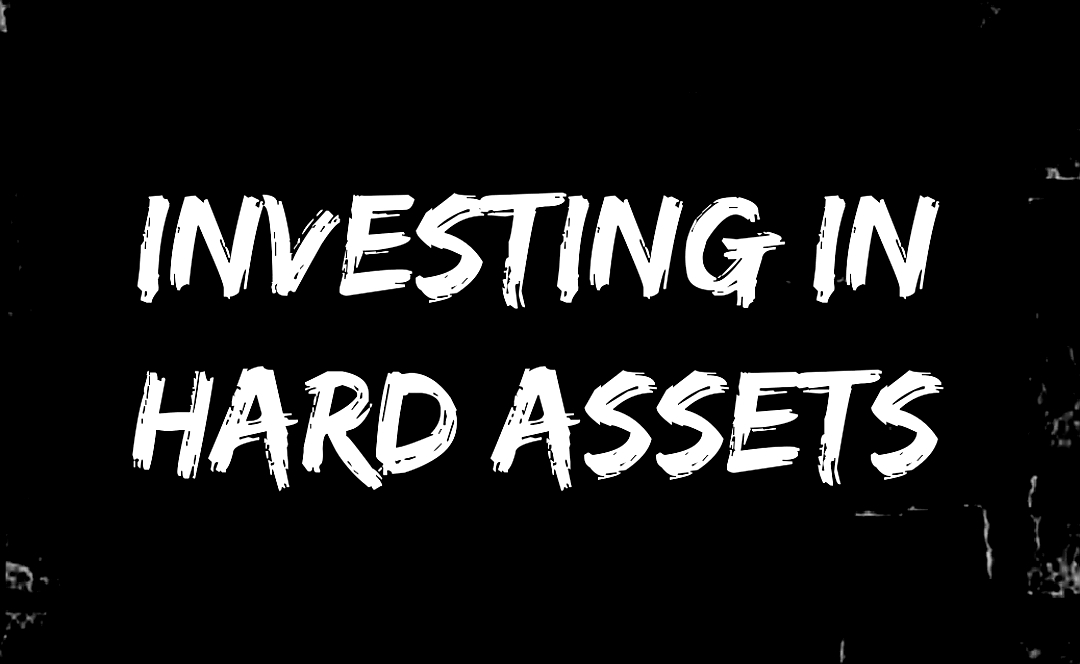 Investing In Hard Assets Graphic