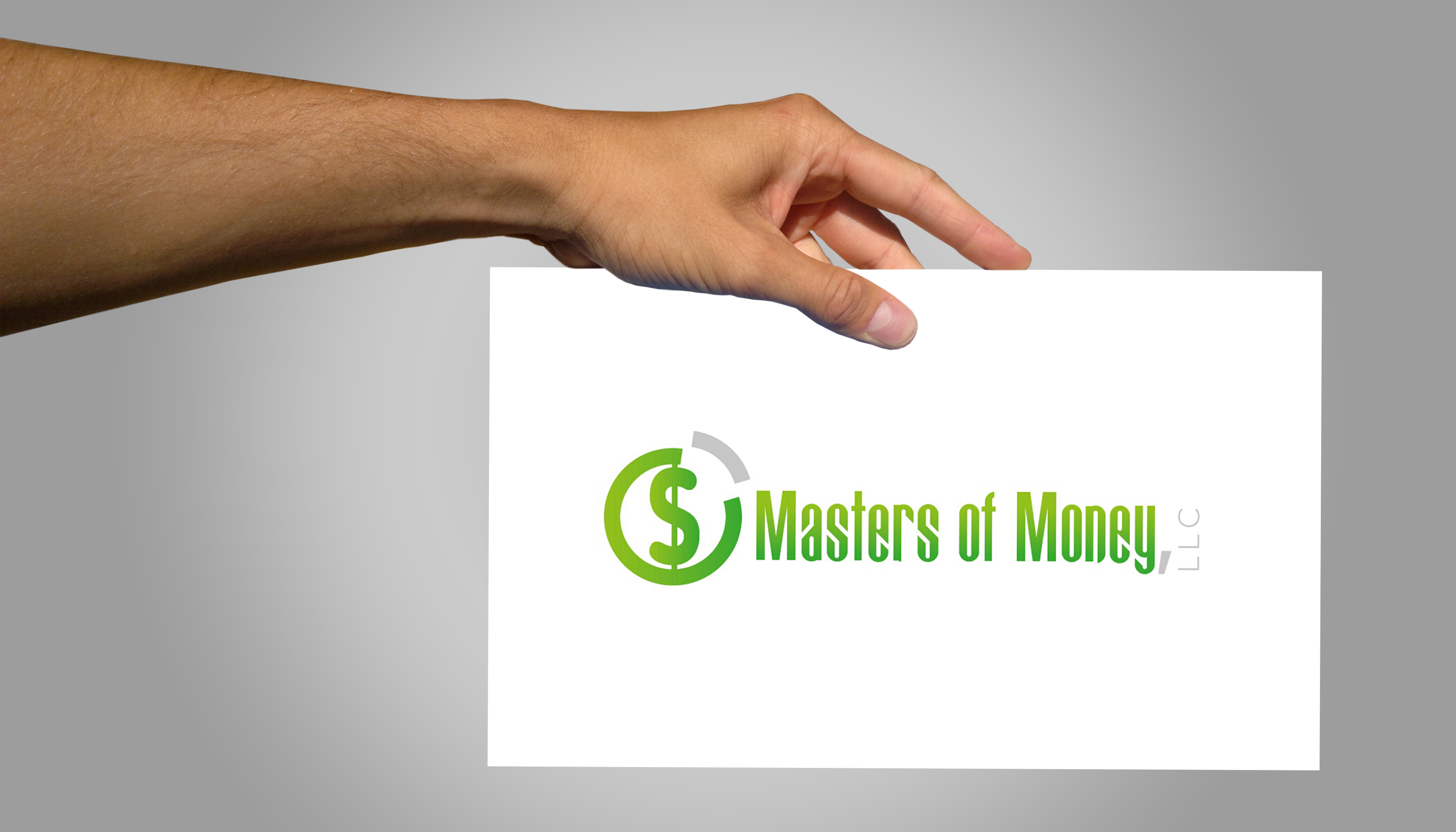 Masters of Money LLC Logo Signboard Photo