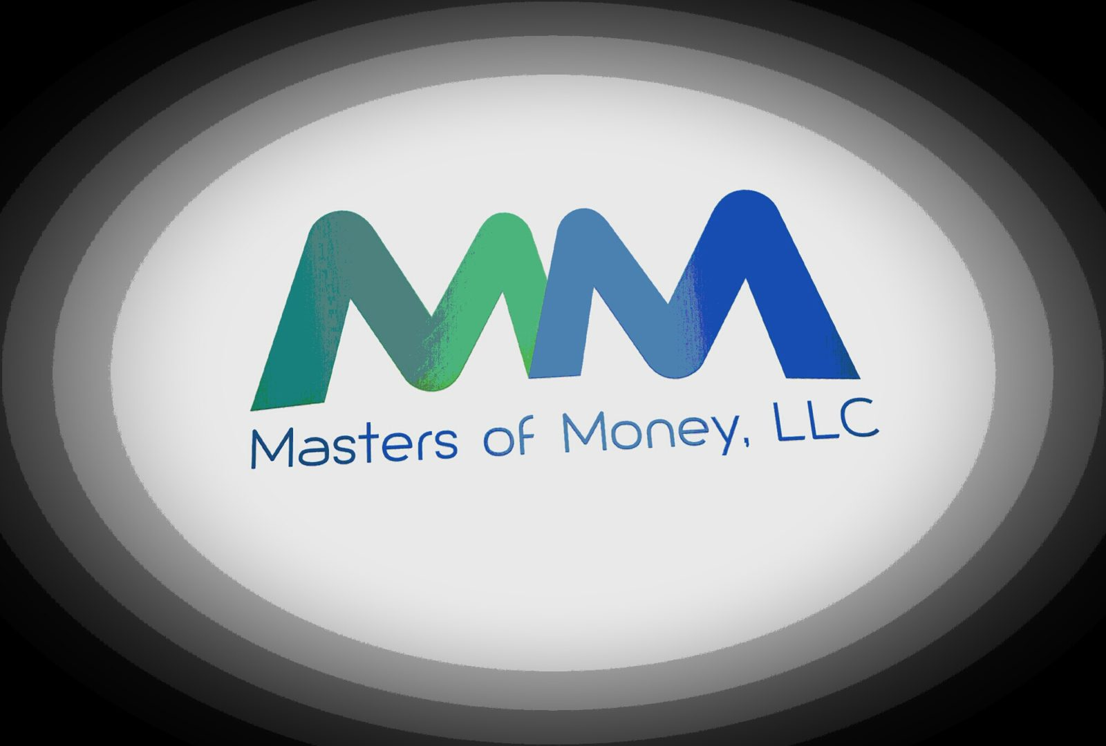 Masters of Money LLC Double M Halo Logo