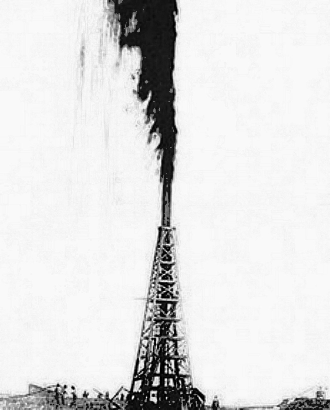 Oil Well Gusher Picture
