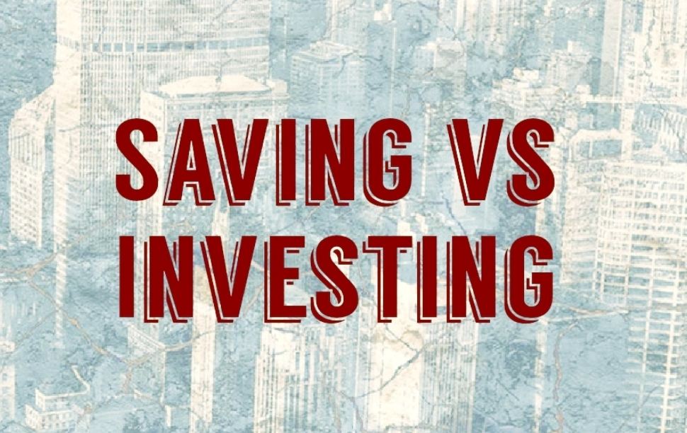 Saving vs Investing Graphic