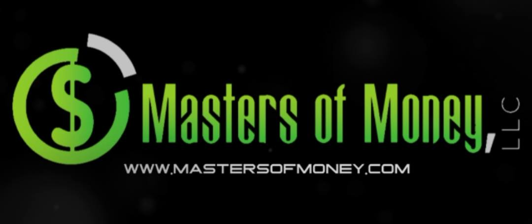 Masters of Money LLC Logo and www.mastersofmoney.com website Graphic