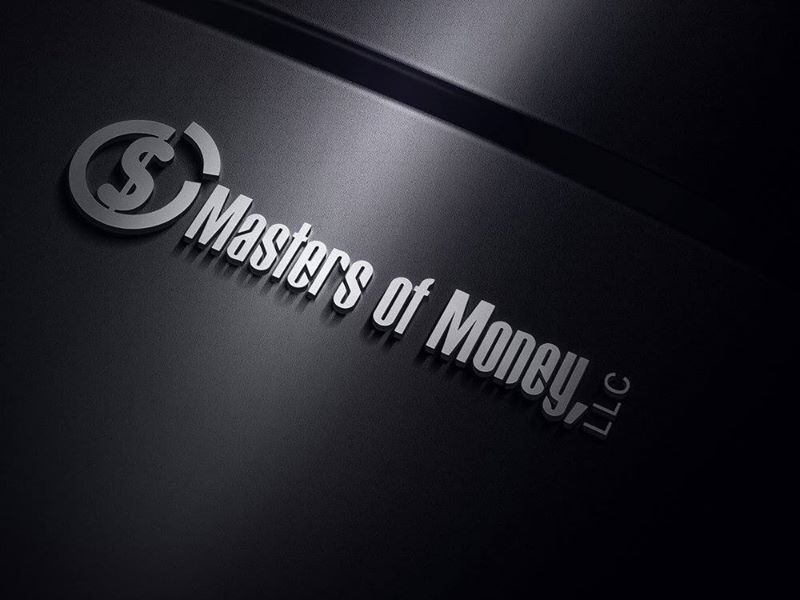 Masters of Money LLC Logo On A Keyboard Image