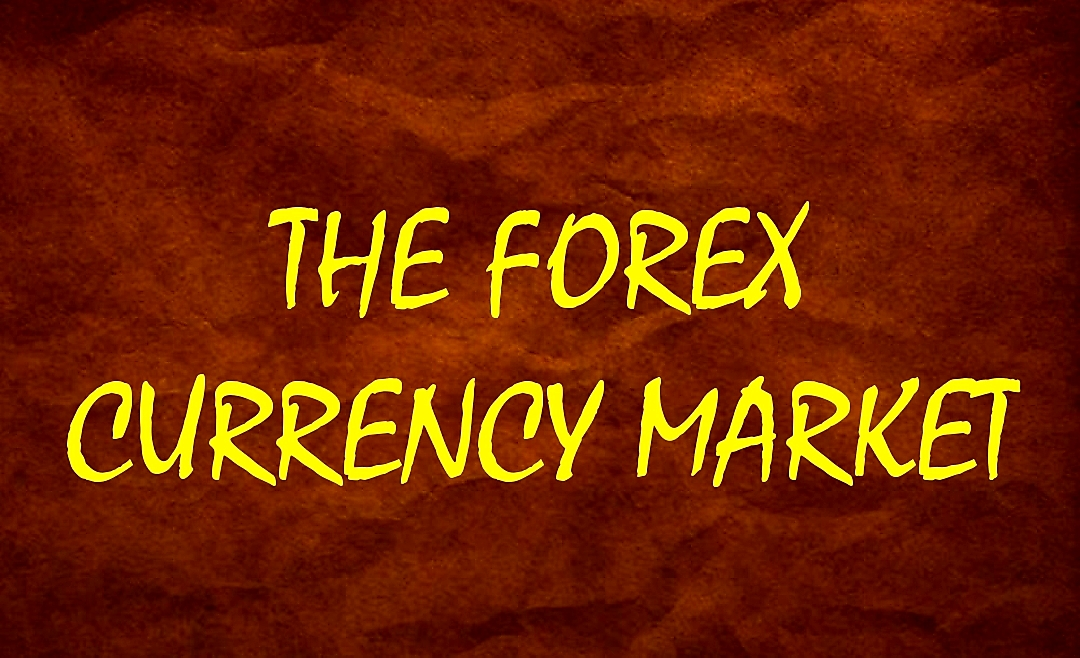 THE FOREX CURRENCY MARKET GOLD & BROWN Graphic
