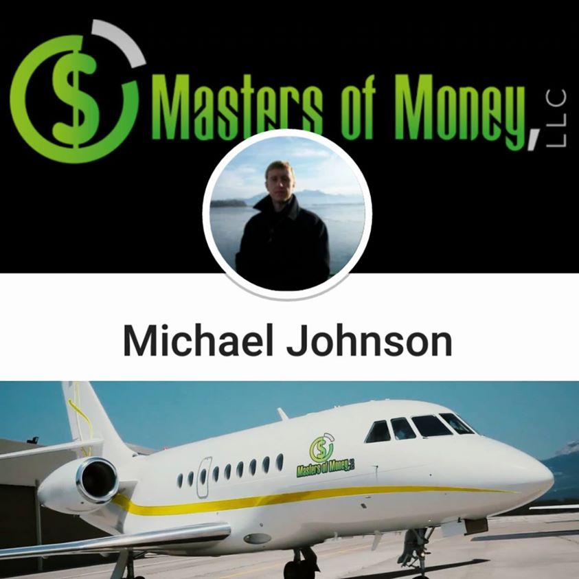 Michael Johnson - Masters of Money LLC Jet Collage Photo
