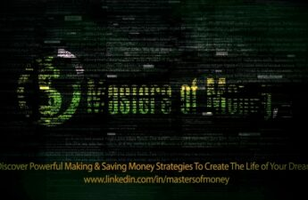 Masters of Money LLC LinkedIn Glitch Promotional Video Post Photo