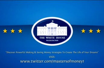 Masters of Money LLC The White House Twitter Graphic