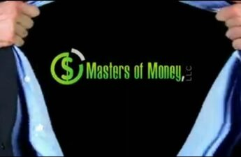 Superman Themed Masters of Money LLC Logo Reveal Graphic